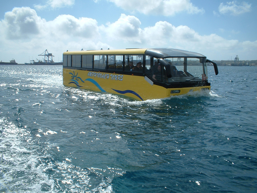 A Fun and Unique Romantic Experience: Water Bus Launched